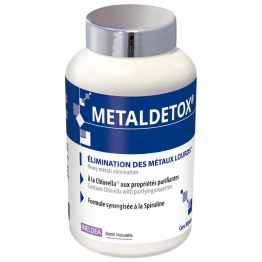 INELDEA SANTE NATURELLE METALDETOX ELIMINATION DES METAUX LOURDS 120 GELULES VEGETALES