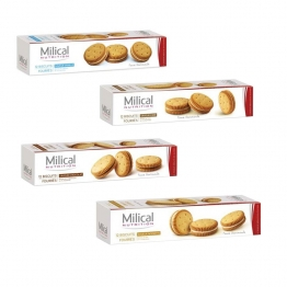 MILICAL 12 BISCUITS FOURRES 220G