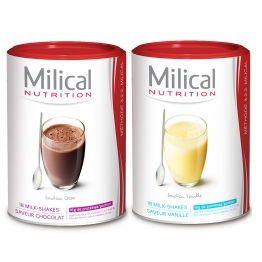 MILICAL MILK-SHAKE MINCEUR HYPERPROTEINE X18 PORTIONS