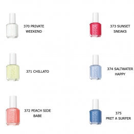 ESSIE VERNIS A ONGLES COLLECTION SUMMER 2015