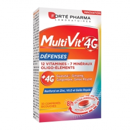 MULTIVIT'4G DEFENSES 30 COMPRIMES FORTE PHARMA