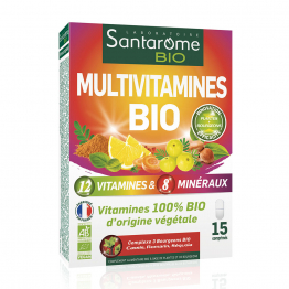 Multivitamines Bio 15 comprimés Santarome
