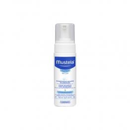 MUSTELA BEBE SHAMPOOING MOUSSE NOURRISSON PEAUX NORMALES 150ML