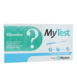 MYLAN MY TEST ALBUMINE AUTOTEST SIMPLE ET RAPIDE 1 KIT