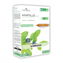 Myrtille Bio 20 ampoules Elimination Flora Natura