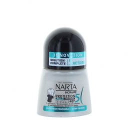 NARTA HOMME DEODORANT ANTI-TRANSPIRANT PROTECTION 5 ROLL-ON 50ML