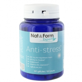 NAT&FORM ANTI-STRESS 60 GELULES