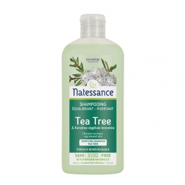 NATESSANCE SHAMPOOING PURIFIANT AU TEA TREE 250ML
