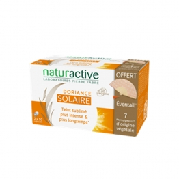 NATURACTIVE DORIANCE SOLAIRE 2X30 CAPSULES + EVENTAIL OFFERT