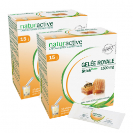 NATURACTIVE GELEE ROYALE 2X15 STICKS