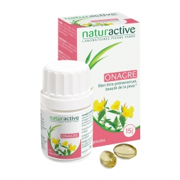 NATURACTIVE HUILE D'ONAGRE 30 CAPSULES