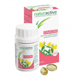 NATURACTIVE HUILE D'ONAGRE 60 CAPSULES