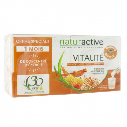 NATURACTIVE VITALITE GINSENG GELEE ROYALE PROPOLIS 2X15 STICKS