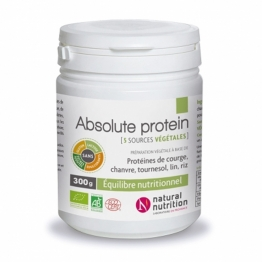 NATURAL NUTRITION ABSOLUTE PROTEIN BIO 300G