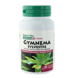 NATURE'S PLUS GYMNEMA SYLVESTRE 60 GELULES VEGETALES