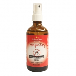 NATURESUN AROMS TRANQUILITY SPRAY ANTI-MOUSTIQUES 100ML
