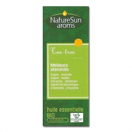 NATURESUN AROMS HUILE ESSENTIELLE DE TEA-TREE MELALEUCA 30ML