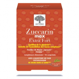 NEW NORDIC ZUCCARIN EXTRA FORT 90 COMPRIMES
