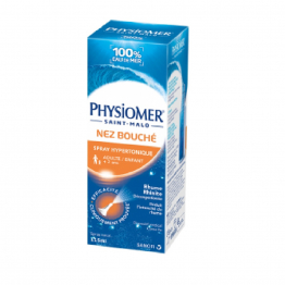 Nez Bouché Spray Hypertonique Adulte Et Enfant 135ml Physiomer