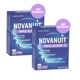 NOVANUIT TRIPLE ACTION 2X30 GELULES
