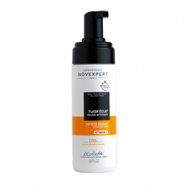 Mousse Nettoyante Flash Eclat 150ml Vitamine C Novexpert