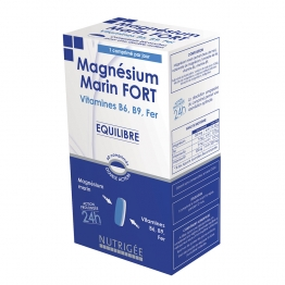 NUTRIGEE MAGNESIUM MARIN FORT 60 COMPRIMES