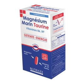 NUTRIGEE MAGNESIUM MARIN TAURINE 30 COMPRIMES