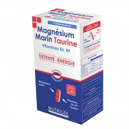 NUTRIGEE MAGNESIUM MARIN TAURINE 60 COMPRIMES
