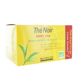NUTRIGEE THE NOIR HONG CHA BIO 30 SACHETS