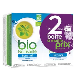 NUTRISANTE INFUSION SOMMEIL BIO 2X20