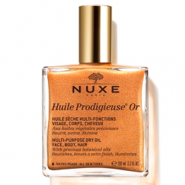 NUXE HUILE PRODIGIEUSE OR VISAGE CORPS ET CHEVEUX 100ML