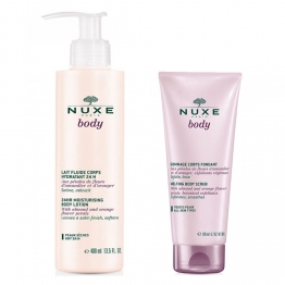 NUXE BODY LAIT FLUIDE CORPS 400ML + GOMMAGE 200ML