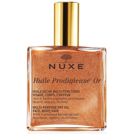 NUXE HUILE PRODIGIEUSE OR VISAGE CORPS ET CHEVEUX 50ML