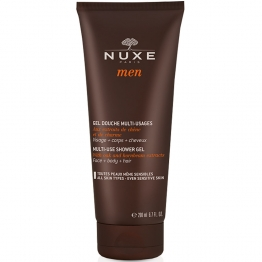 NUXE MEN GEL DOUCHE MULTI-USAGES VISAGE, CORPS ET CHEVEUX 200ML