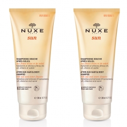 NUXE SUN SHAMPOING DOUCHE HYDRATANT APRES-SOLAIRE 2X200ML
