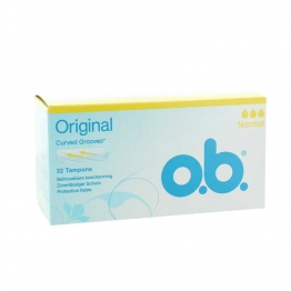 OB ORIGINAL PROTECTION FIABLE NORMALE 32 TAMPONS