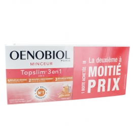 OENOBIOL MINCEUR TOP SLIM 3 EN 1 STICK GOUT PECHE LOT DE 2