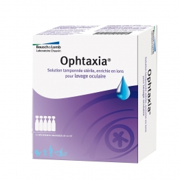 OPHTAXIA LAVAGE OCULAIRE 10 UNIDOSES DE 5ML
