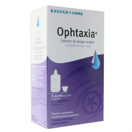 OPHTAXIA SOLUTION DE LAVAGE OCULAIRE 120ML
