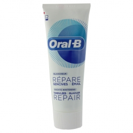 ORAL B DENTIFRICE REPARE GENCIVES ET EMAIL BLANCHEUR MENTHE FRAICHE 75ML