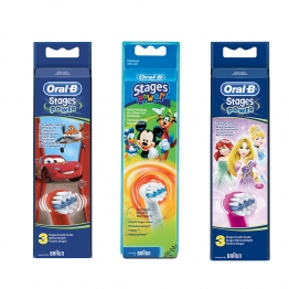 ORAL B STAGES POWER 3 BROSSETTES ENFANTS