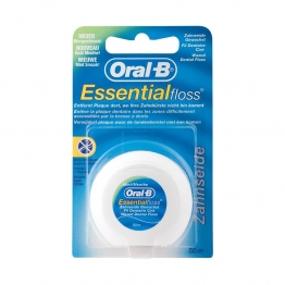 ORAL B FIL DENTAIRE CIRE ESSENTIAL FLOSS MENTHE 50M
