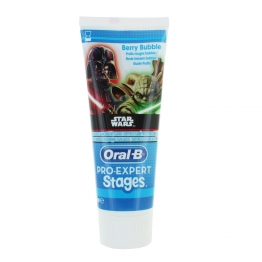 ORAL B PRO EXPERT STAGES DENTIFRICE FLUORE PROTECTION CARIES POUR ENFANT STAR WARS 75ML