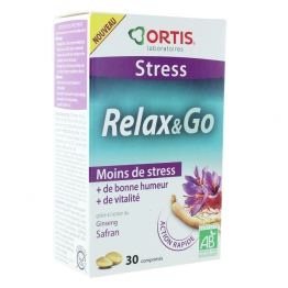 ORTIS RELAX&GO  30 COMPRIMES