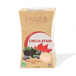 PAGES INFUSION CIRCULATION BIO 20 SACHETS