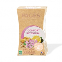 PAGES INFUSION CONFORT INTESTINAL BIO 20 SACHETS