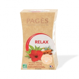 PAGES INFUSION RELAX BIO 20 SACHETS