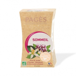 PAGES INFUSION SOMMEIL BIO 20 SACHETS