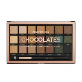 PALETTE OMBRES A PAUPIERES CHOCOLATES 21 TEINTES PROFUSION COSMETICS