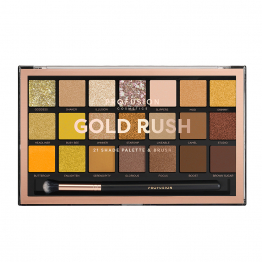 Palette Yeux 21 Teintes Gold Rush Profusion Cosmetics
